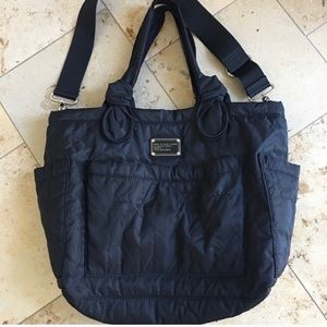 Marc Jacobs quilted diaper bag